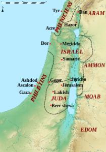 Israel_850_aC.svg