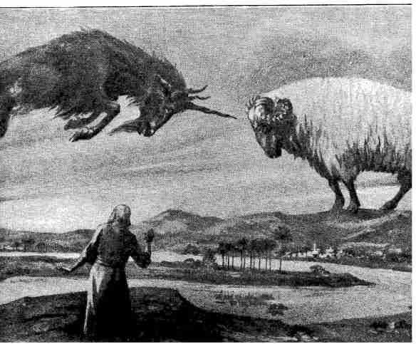 Vision de Daniel chapitre 8: Le bouc grec (empire grec) attaque le bélier médo-perse (empire médo-perse)