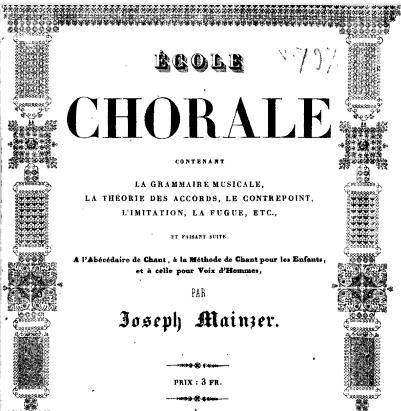 EcoleChorale