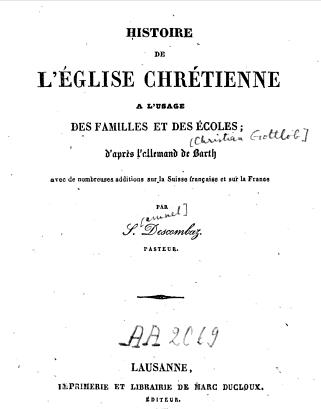 HistoireEgliseChretienne