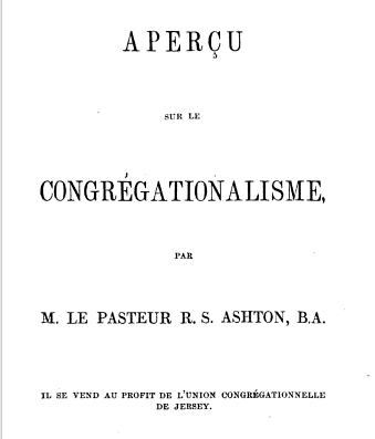 Congregationalisme