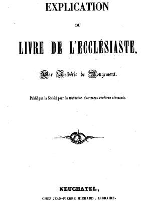 EcclesiasteFrancais