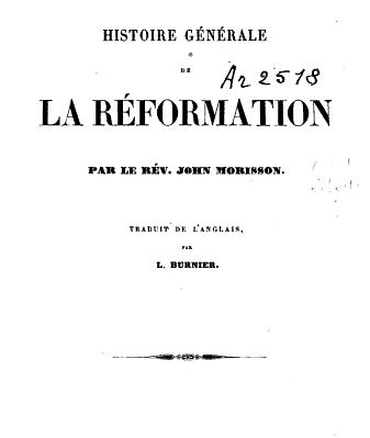 HistoireReformation