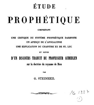 EtudeProphetique