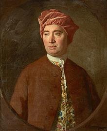 David Hume (1711-1776), philosophe sceptique et co-fondateur de l'empirisme moderne