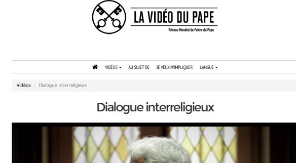 DialoguePapal
