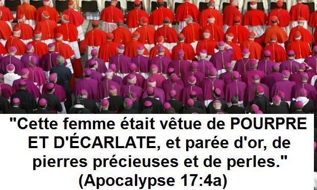 Apocalypse chapitre 17 : les deux couleurs principales de la Grande  Prostituée | Prédestiné à bloguer